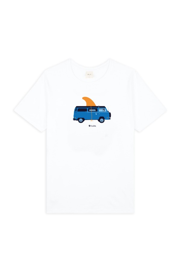 T-SHIRT VAN LIFE WHITE