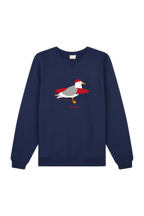 SWEAT MOUETTE NAVY