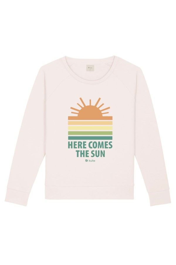 SWEAT FEMME SUN OFF WHITE