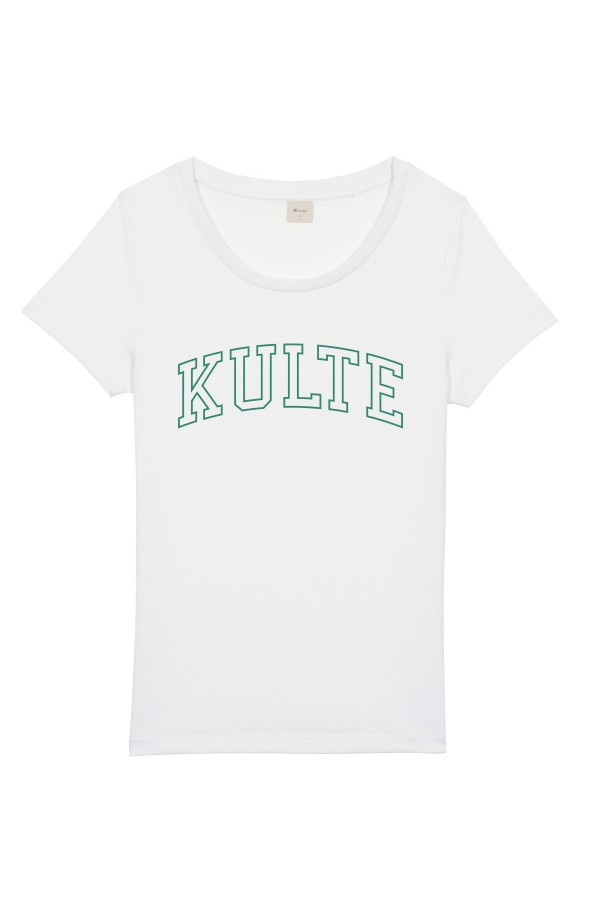 T-SHIRT FEMME ATHLETIC WHITE