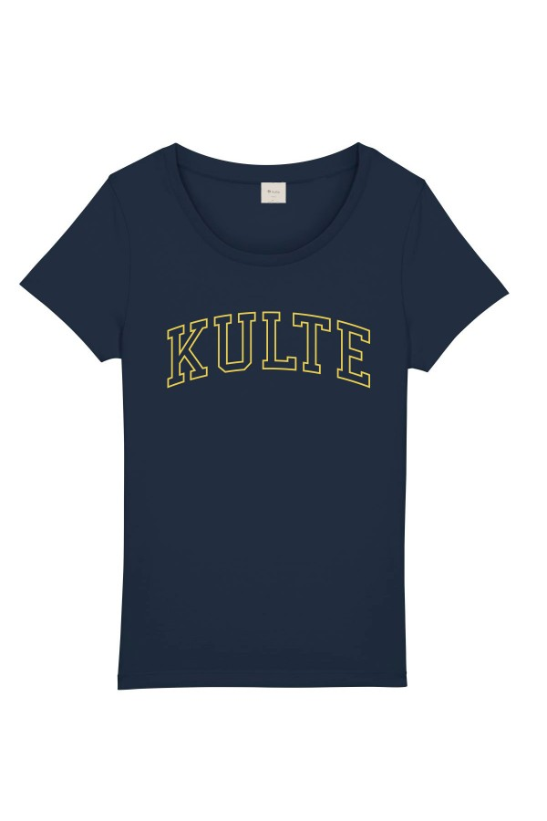 T-SHIRT FEMME ATHLETIC NAVY