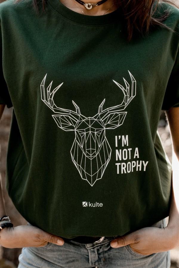 T-SHIRT UNISEXE TROPHY GREEN