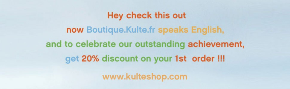 Kulte English shop Now